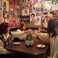 掘り炬燵・お座敷・テーブルなどシーンに合わせて選べる個室はプライベートな飲み会から会社宴会まで様々なシーンにマッチします♪女子アコガレの隠れ家個室は女子会・誕生日会・デート・合コン・会社宴会に◎