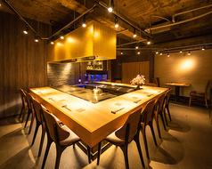 鉄板焼き grow 六本木店の写真