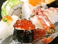 飯塚初 創作寿司と創作寿司ロール