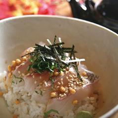 料理メニュー写真真鯛のお茶漬け