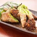 料理メニュー写真◆ 京都産 万願寺唐辛子の肉巻き ~自家製唐味噌添え~ ◆