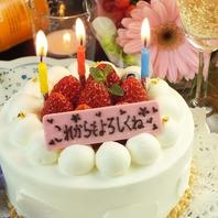 大切な日に・・・メッセージ付ケーキ