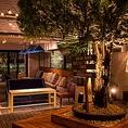 中庭のグリーンは言わずと知れたSOLSOFARMとのコラボ!千駄ヶ谷駅から徒歩2分の場所に、贅沢でゆったり広々な空間を作りだしました♪