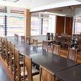 店舗2階にある貸切パーティールームです。お刺身付き、飲み放題付きのコースをご用意。学生さんの集まりから会社の宴会。ご法要など幅広くご利用いただいています。