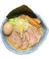 料理メニュー写真味玉肉盛り太麺濃い白湯