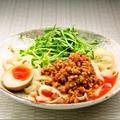 料理メニュー写真汁なしタンタン刀削麺