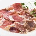 料理メニュー写真イベリコ豚の熟成生ハム ハモンセラーノ