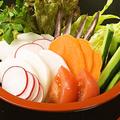 料理メニュー写真神奈川野菜の盛合せ