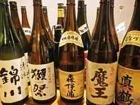 九州焼酎の数々!