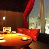 大人気のソファー個室5~6名様用です。人気のソファー個室は早めのご予約が◎浦和の夜景を眺めながらお食事とお酒をどうぞ・・・