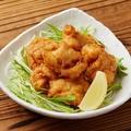 料理メニュー写真特製 若鶏の唐揚げ