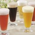 ビールはもちろんワインやサワーなども多彩にご用意しております。お料理や気分に合わせてお気に入りの一杯を見つけてください◎