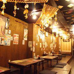 みんなでわいわい♪浦和の焼き鳥居酒屋でゆっくり飲み放題がおすすめ!掘りごたつ・座敷・個室もご用意できます。