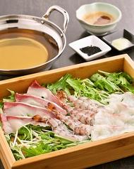 料理メニュー写真【名物】天草 海しゃぶ (車海老・鰤・鯛)