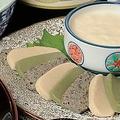 料理メニュー写真「京都老舗 半兵衛麩さんの」生麩ととろ湯葉のお刺身
