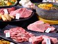 【宝牛コース5000円】若勝に来たならこれを食べなければ始まらない。極上厚切りタンや小倉牛カルビ、希少部位のつらみや人気の大阿蘇どりも食べられる、店主イチオシのコース!120分飲み放題付きです。