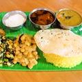 料理メニュー写真南インド定食セット
