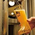 ビヤホールの老舗《銀座ライオン》の生ビールは泡が決め手!!全7種類の生ビールをご用意◎
