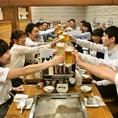 予算が決まった会社宴会にオススメ!30・60品二種類の食べ放題コース登場!