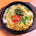 料理メニュー写真博多屋台名物「鉄板焼きラーメン」
