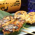 料理メニュー写真(変り串焼)ピーマン肉詰め/しいたけ肉詰め/うずら卵肉巻き