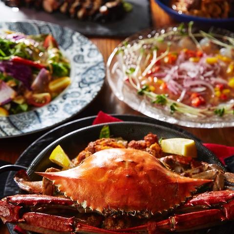ローズポークのスペアリブなど茨城の食材をふんだんに使った自慢の料理を是非