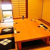 4名様からご利用可能な個室席。