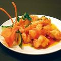料理メニュー写真海老のチリソース煮/海老の海鮮ソース