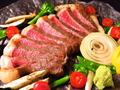 料理メニュー写真阿蘇あか牛イチボのステーキ(200g)