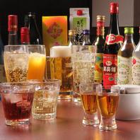 ビールや焼酎、中国酒各種豊富な取り揃え◎