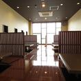 2階の46名様までの個室です。仕切り等、お客様のご要望にお応えいたしますので、詳細は店舗までお問い合わせください♪