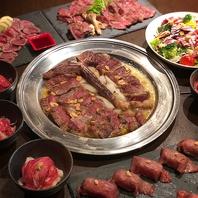 Tボーンステーキ&肉寿司付牛コース7品+2H[飲放]⇒4980