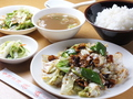 料理メニュー写真牛肉と野菜炒め