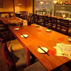 女子会・合コンなどにぴったりなテーブル席もご用意しております。