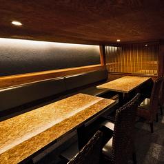 お席はパーテーションにて仕切られておりますので、人数に合わせたお席をご用意致します♪