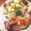 料理メニュー写真 さくらんぼ鶏コンフィ