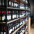 巨大なワインセラー!常時350種類のワインをご用意。
