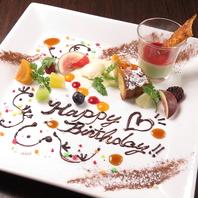 誕生日や記念日のお祝いにおススメ!
