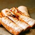 料理メニュー写真鮭のハラス鉄板焼き