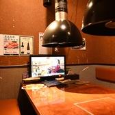 テレビ付きの完全個室です。4名様~8名様でご利用いただける完全個室はプライベートな時間を愉しむことができます。ご家族での食事や職場の仲間との宴会にぴったりです。