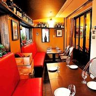 【個室/ソファ&テーブル席】10名からご予約可能!