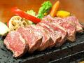 料理メニュー写真【柔らか!アメリカ産最高プライムビーフ】黒毛和牛 炎のリブロースステーキ