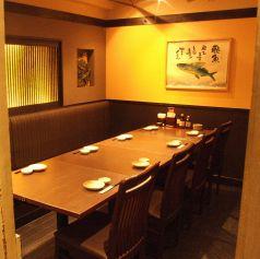 2~6人のプライベート使いに最適な個室を多数ご用意☆ゆったりと落ち着いた店内でお食事を。
