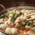 料理メニュー写真本格九州博多もつ鍋!この季節には鉄板のお鍋◎