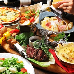 個室&チーズ&肉 25ans ヴァンサンカンのコース写真