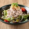 料理メニュー写真京都産日吉豚の豚しゃぶサラダ
