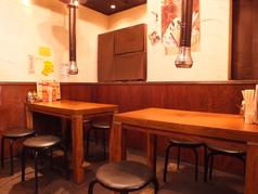 宴会にもおすすめなテーブル席★