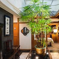 宋代の成都のレストランを想わせる空間