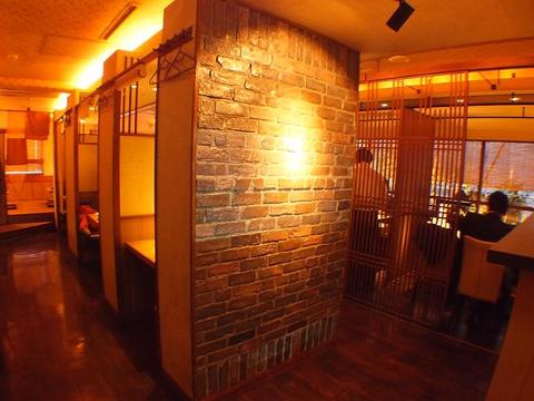 落ち着いたモダンな和空間…2時間食べ放題2000円!食べ飲み放題3100円!