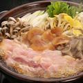 料理メニュー写真軍鶏とキノコの軍鶏鍋
